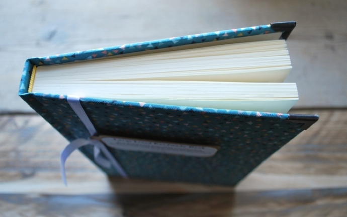 hand bound book, Snapdragon Designs