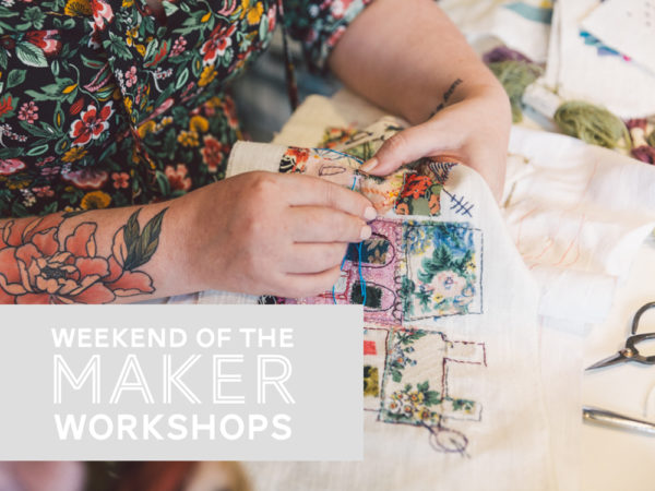 weekend of the maker workshops