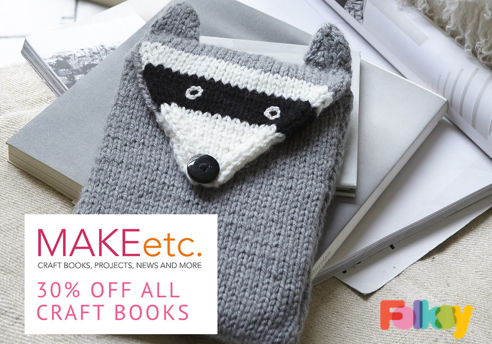MAKEetc offer, CICO Books, offer