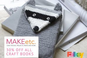 MAKEetc – celebrate a new site for craft books and tutorials with 30% off
