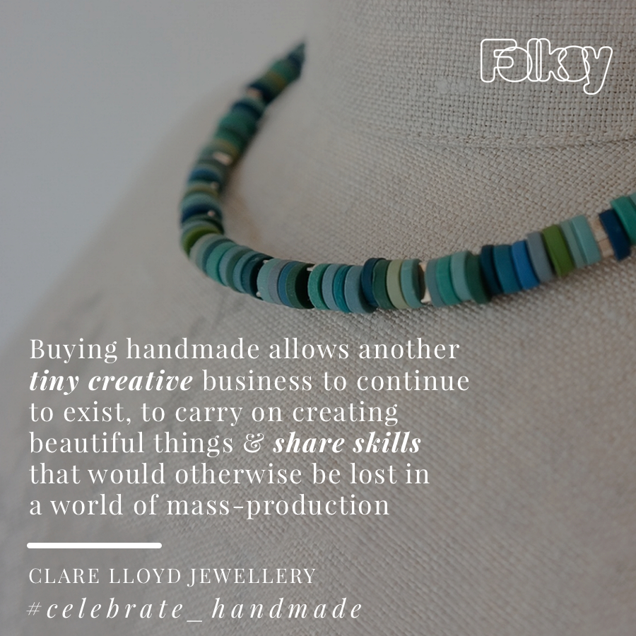 Why Buy Handmade, Clare Lloyd