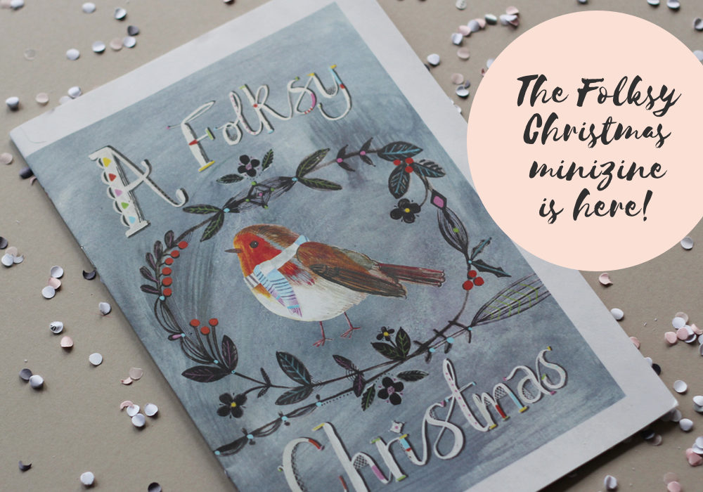 Folksy Christmas magazine