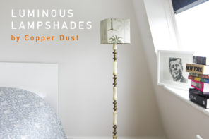 Luminous Lampshades by Copper Dust