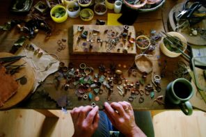Pods and Plunder: the copper, silver and seed pod jewellery of Caroline Frodsham