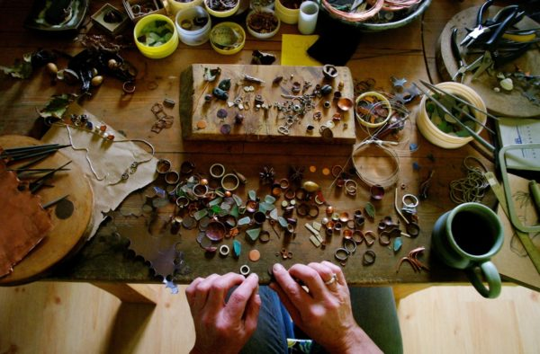 seed head jewellery, pods and plunder, caroline frodsham