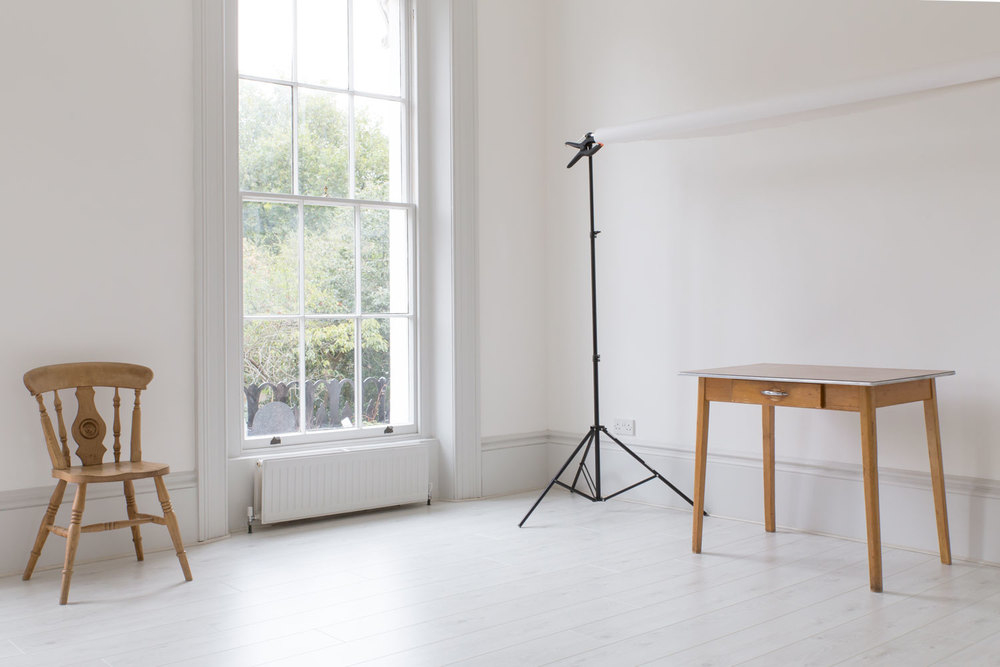 Yeshen Venema, studio, photography studio, Islington, London