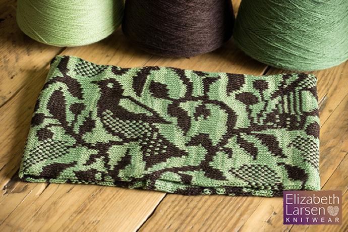 Knitted Bird Cowl, Elizabeth Larsen Knitwear