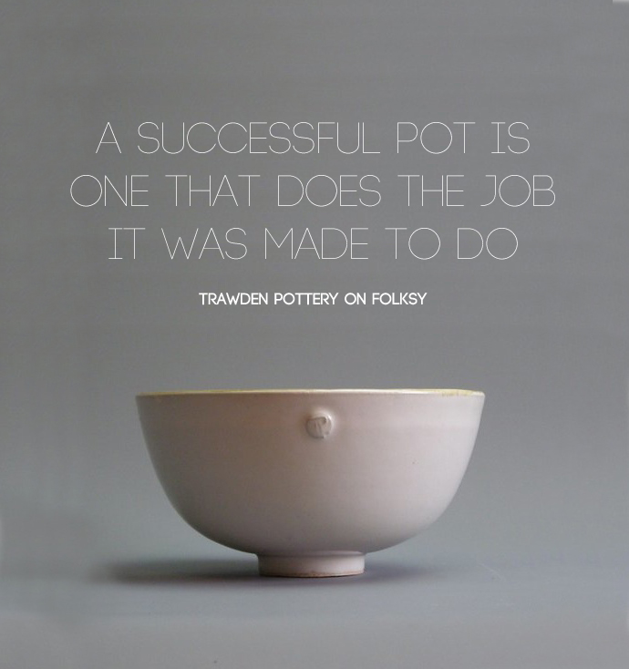 what makes a successful pot, handmade ceramics