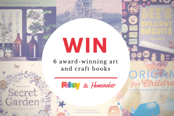 win art and craft books, craft books, giveaway, best craft books