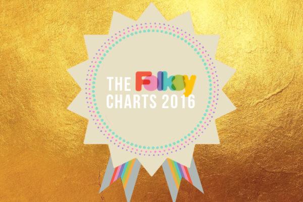 Review of 2016, Folksy Charts 2016, Folksy stats 2016, Folksy bestsellers,