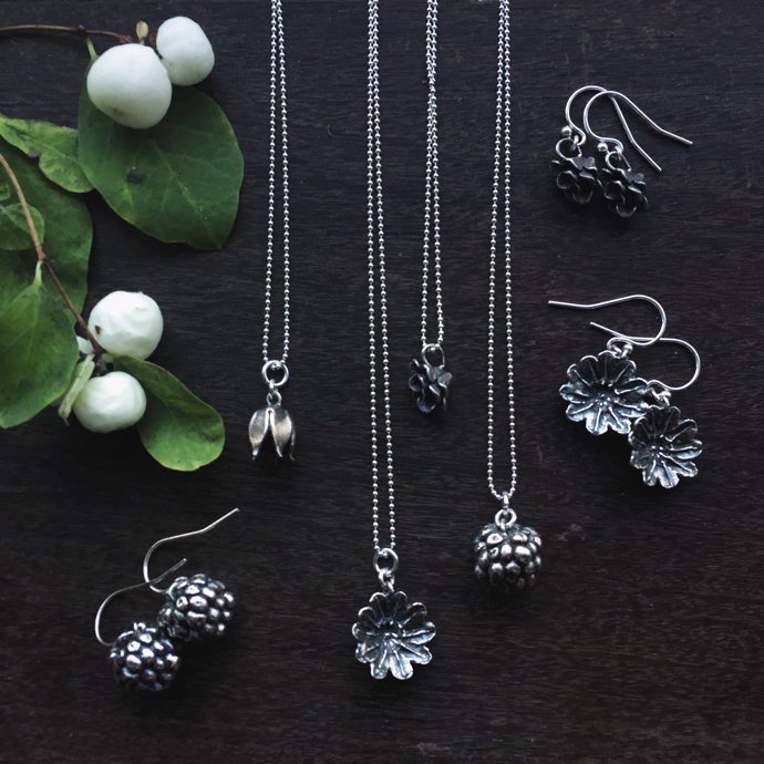 wild berries jewellery, Gracie Flo Jewellery,