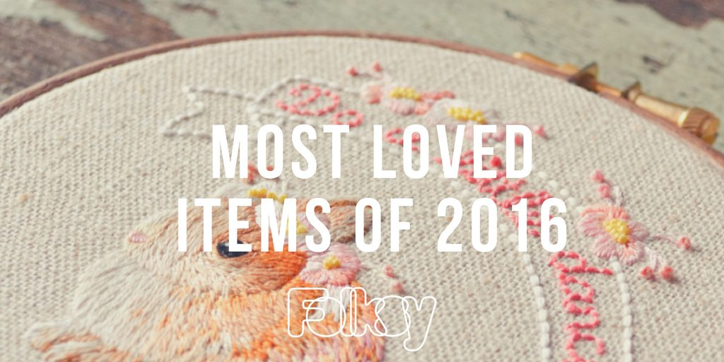 most loved items 2016, folksy