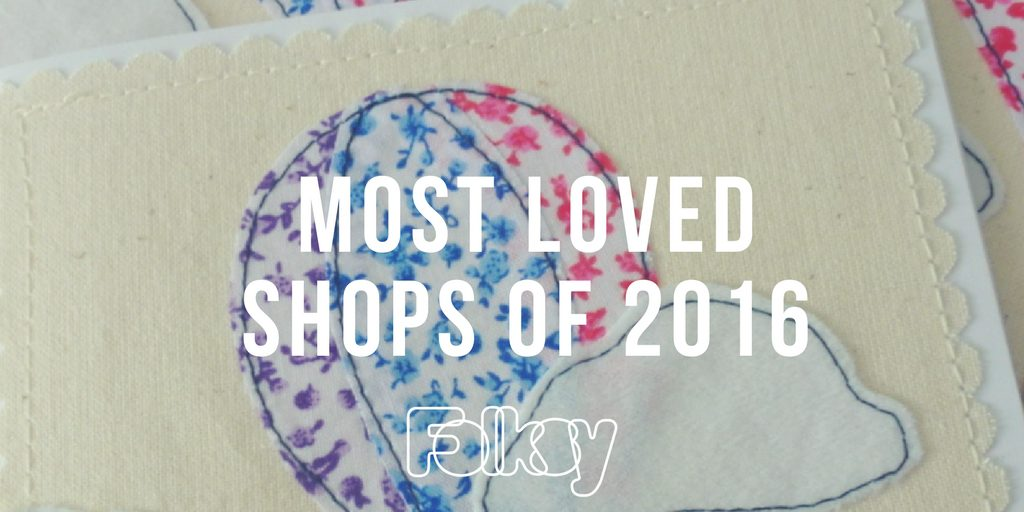 most loved shops, 2016, folksy