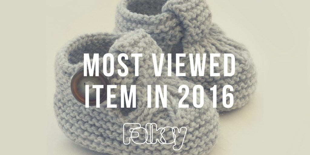most viewed item on folksy 2016,