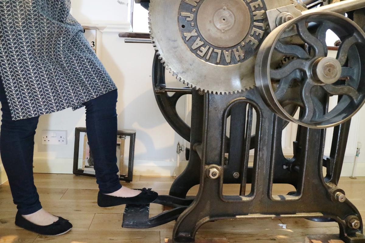Ellie Press, letterpress printing, letterpress printers UK,