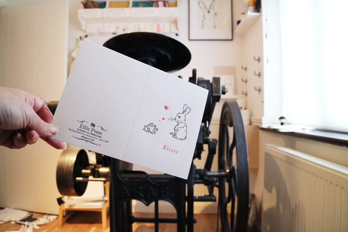 Ellie Press, letterpress printing, letterpress printers UK,