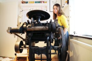 Meet Ellie Press – creating cute letterpress designs with added bunnies