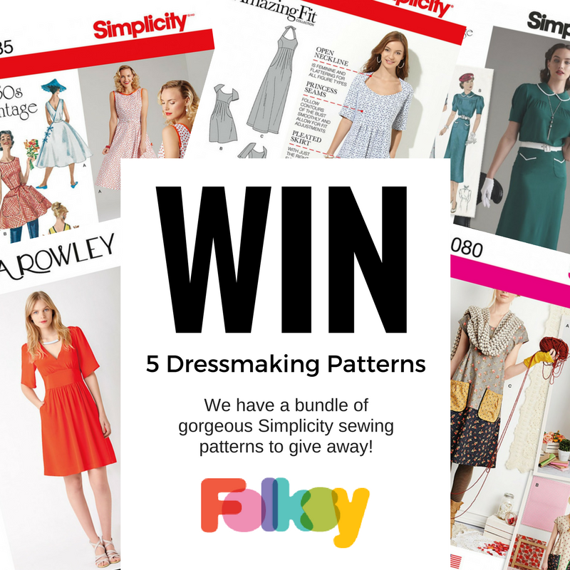 Online Dressmaking Lessons - HALF PRICE (plus win Simplicity patterns!)