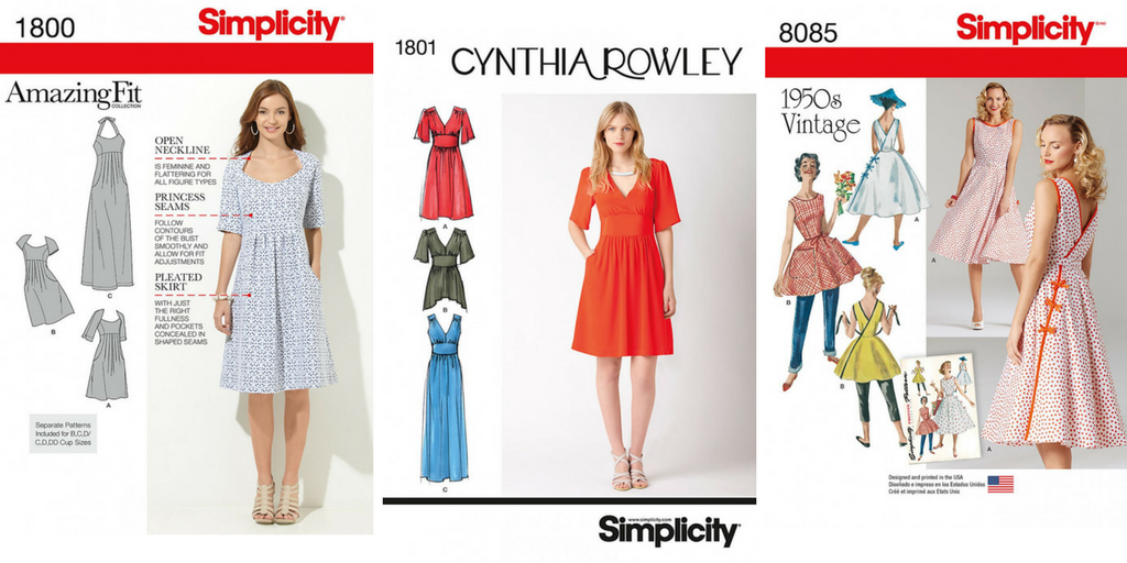 free simplicity dress patterns giveaway