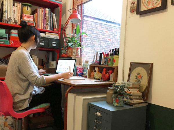 Lydia Meiying, Lydia Meiying illustrator, south-east asian birds, interview, manchester illustrator, Manchester artist,