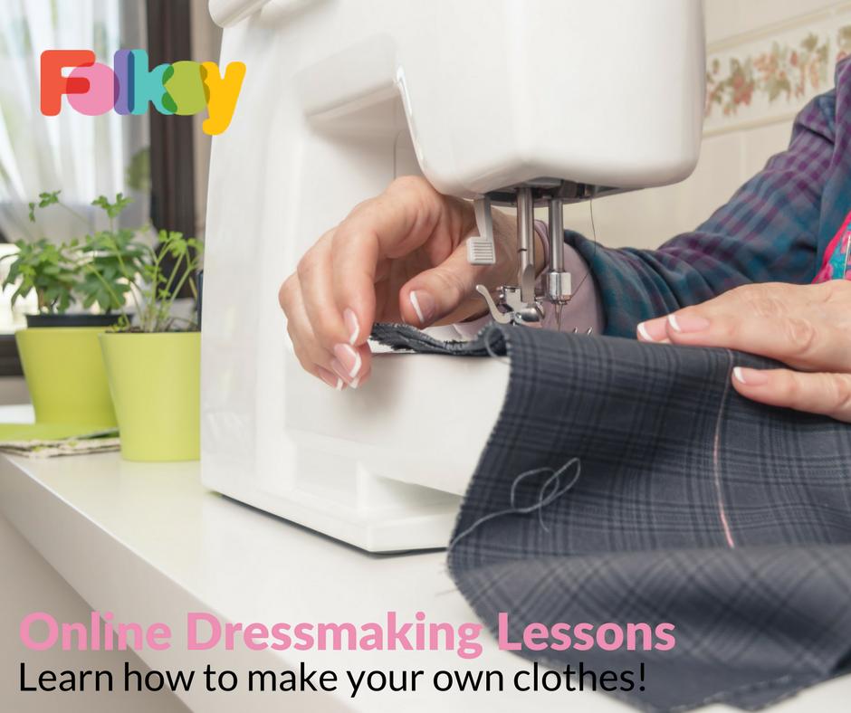 online dressmaking lessons