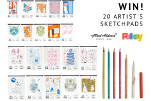 Win a set of 20 artist's drawing pads from Fred Aldous!