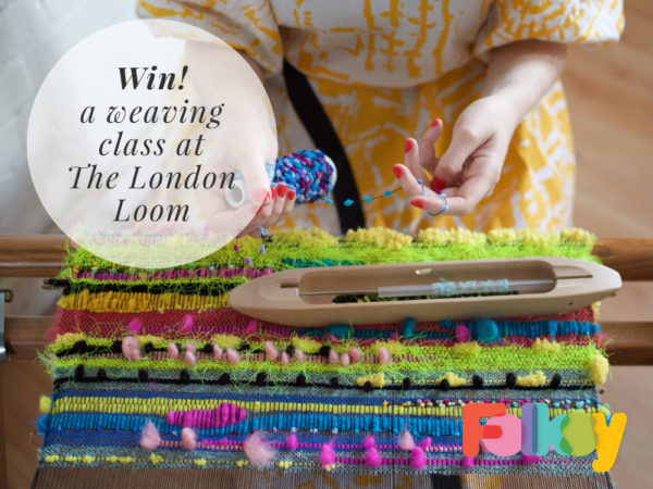 weaving workshop, London Loom, giveaway, London weaving class,