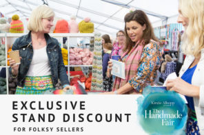 The Handmade Fair – special discount on stands for Folksy sellers