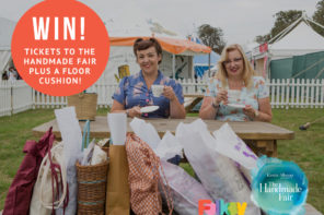 Win tickets to The Handmade Fair & a Floor Cushion!