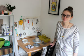 Natko Ceramics – meet the superhero potter and her cat companion
