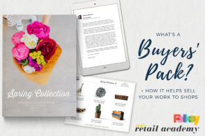 Selling to shops: What is a buyer's pack