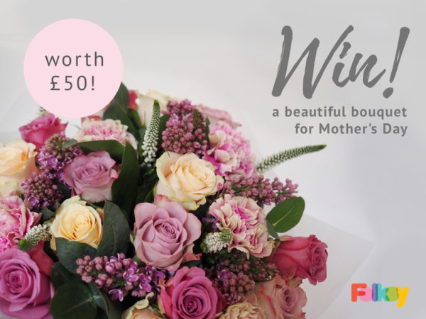 Mother's Day flowers giveaway,