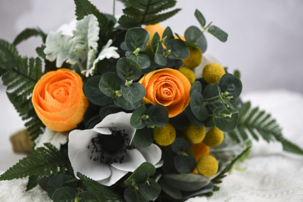 paper flowers, paper flower bouquet, paper flowers uk, paper flowers wedding, paper bea company, paperbea company, paper bridal bouquet,