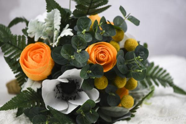 paper flowers, paper flower bouquet, paper flowers uk, paper flowers wedding, paper bea company, paperbea company, paper bridal bouquet,
