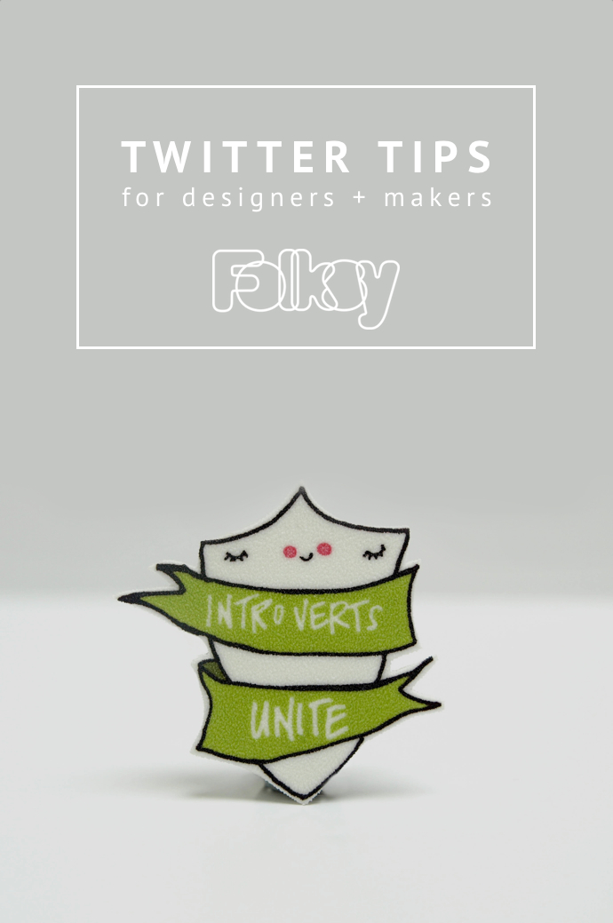 Twitter tips for designers and makers, Twitter Tips, selling craft online, social media tips