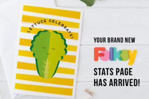 The NEW Folksy Seller Stats page is here!