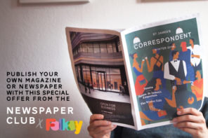 Publish your own magazine – A Newspaper Club Offer for Folksy sellers