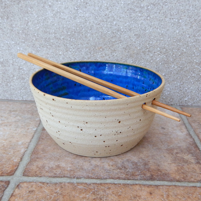 handmade noodle bowl, stoneware noodle bowl, handmade ceramics, CaractacusPots, Caractacus Pots, british potter, pottery, meetthemaker, meet the maker interview,