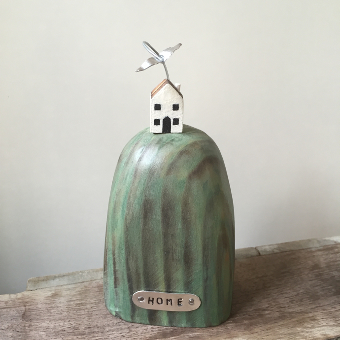 housewarming gift, housewarming gift idea, house on the hill, julie love, julie love little works of art,