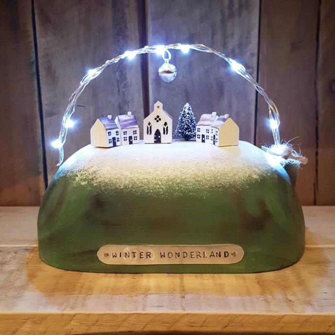 winter wonderland, winter wonderland sculpture,