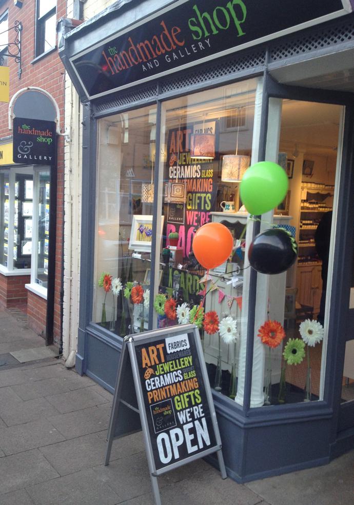 Handmade Shop, Jane Crick,
