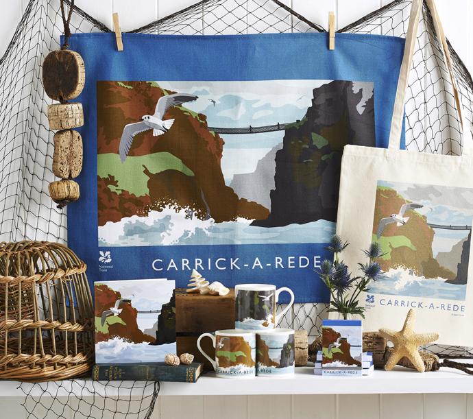 Jane Crick, floral illustration, gift wrap designer, designer gift wrap, national trust,