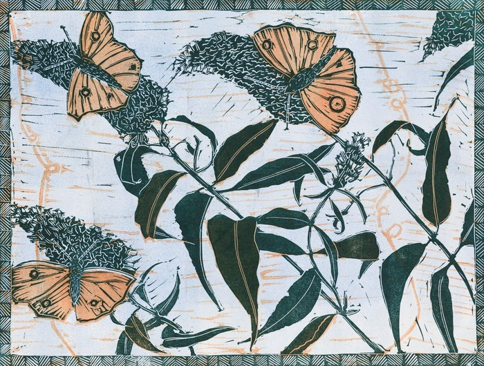 Fragile Flower prints, printmaker, Fragile Flower, Danielle Stretch,