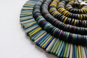 Meet jeweller Clare Lloyd – creating colour chart jewellery in all shades of the spectrum