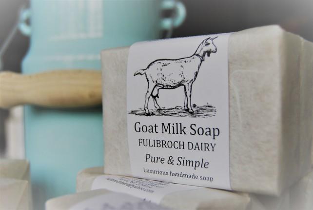 Fulibroch Dairy, Goat Milk Soap,