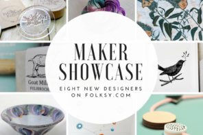 Designer and maker showcase – eight new makers on Folksy