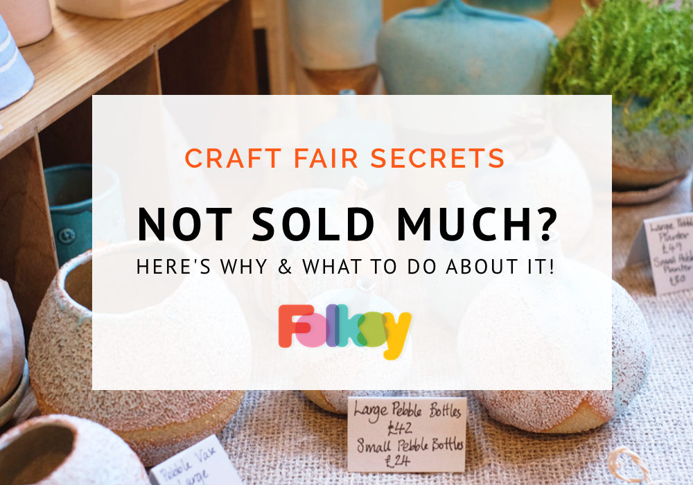 craft fair tips, craft fair advice, what if you don't sell anything, What to do if sales are low at a craft fair,