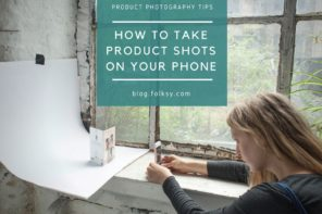 How to take product shots on your phone