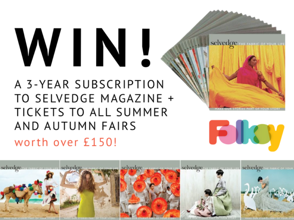 Selvedge subscription offer, win a Selvedge subscription, Selvedge magazine,