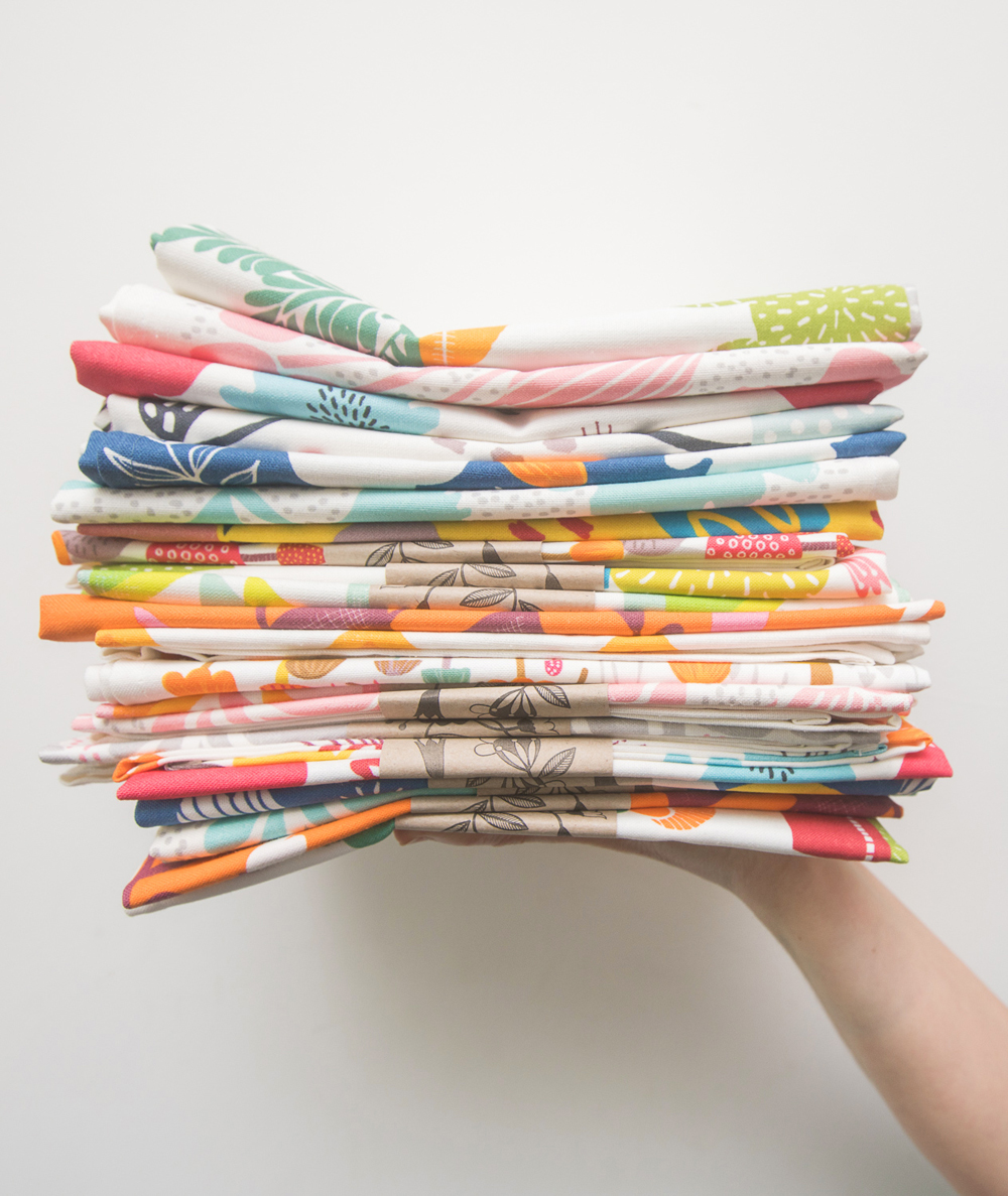 Maggie Magoo Tea Towels, maggie magoo notebook, MaggieMagoo Designs, Maggie Magoo, British designer, meet the maker interview, print and pattern,